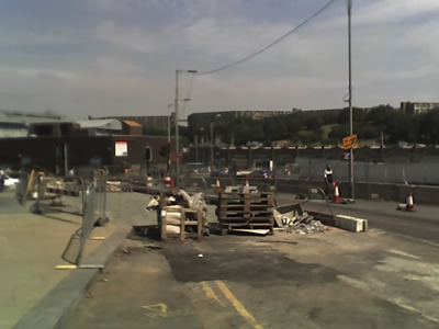 Sheffield roadworks