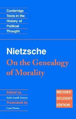 nietzsche genealogy of morals essay 1 section 15 The genealogy of morals/first essay ←preface the genealogy of morals by friedrich nietzsche 15 in the faith in what.